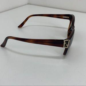 Fendi Eyeglasses Frames Italy Brown